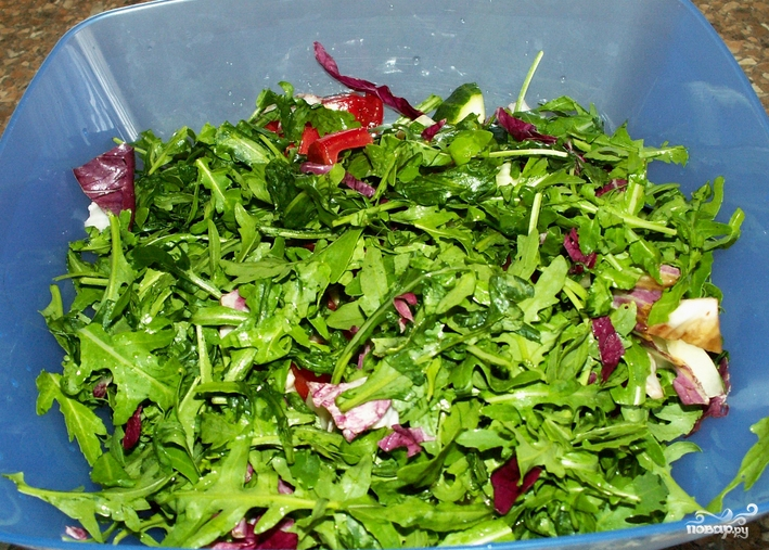 Полинезийский салат - фото шаг 4