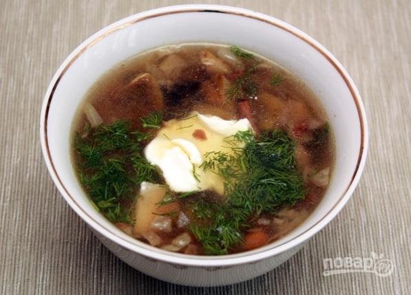 очень вкусный суп грибной рецепт