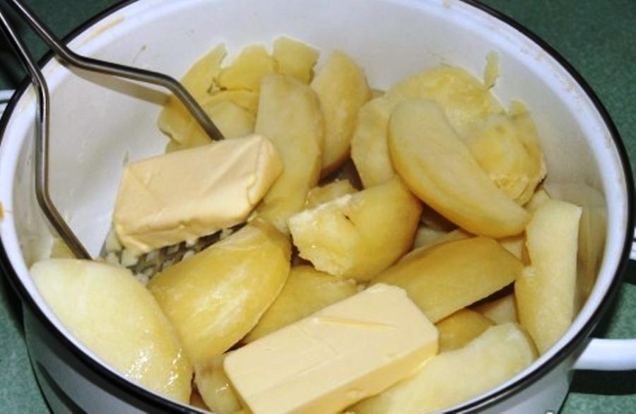Рецепт Картофельная запеканка с фаршем в духовке