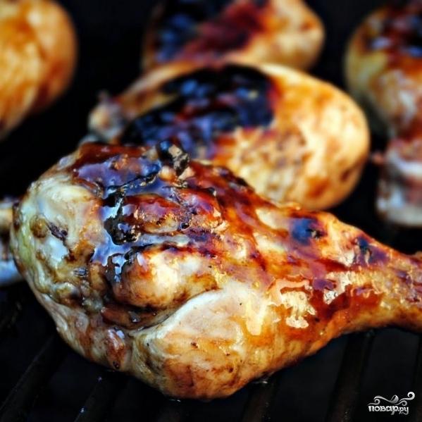 Куриные голени в глазури из джема - фото шаг 9
