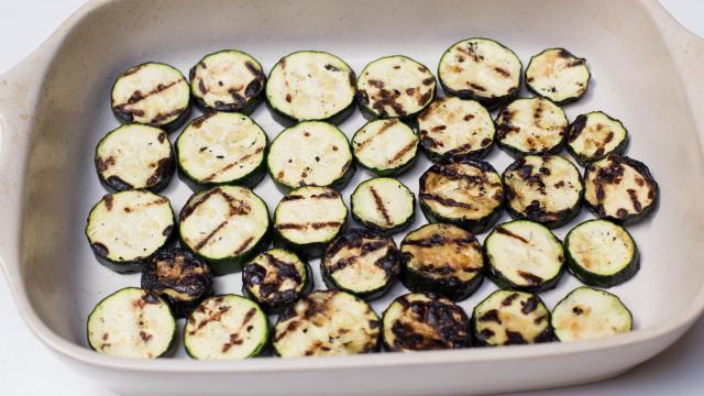 Суфле из кабачков под грибным соусом  - фото шаг 3