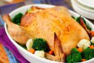 Запекание курицы в духовке