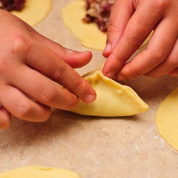 Рецепт приготовления самсы пошагово фото