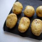 Рецепт Запеченный картофель с травяным соусом