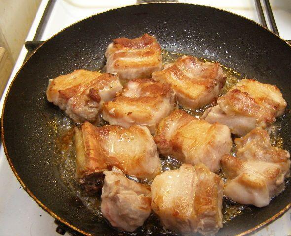 Жаркое со свиными ребрышками - фото шаг 2