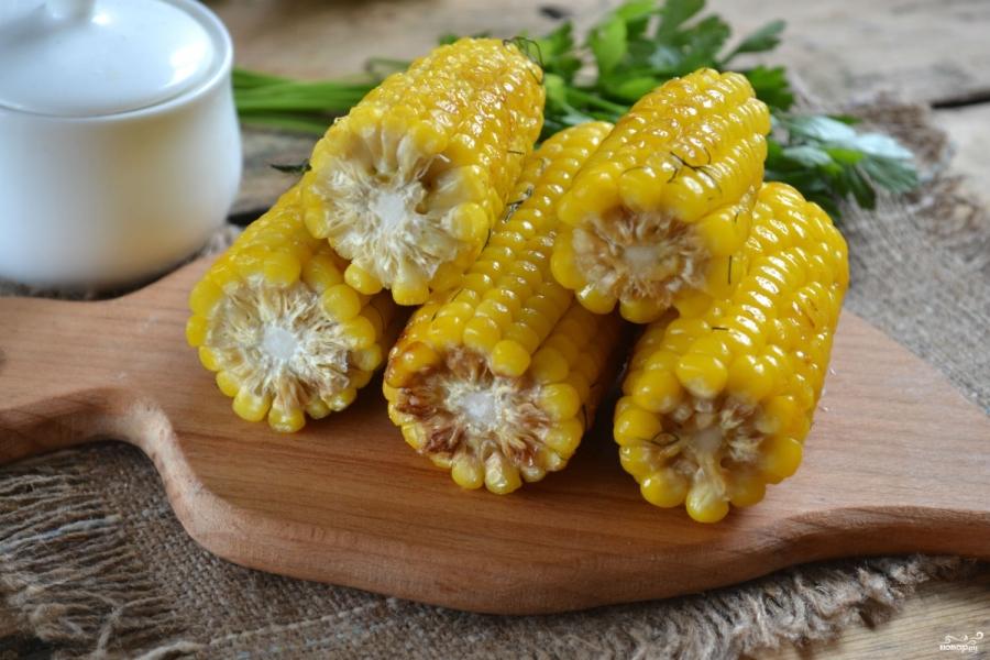 Запеченная кукуруза в мультиварке - фото шаг 6