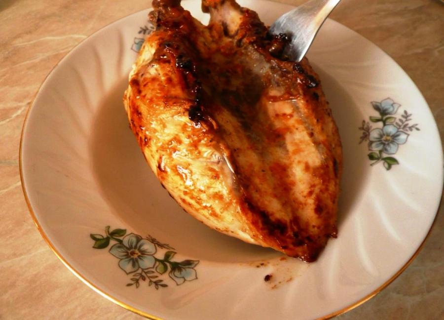 Куриная грудка с цветной капустой с фото