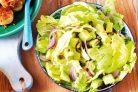 Салат из салата Айсберг