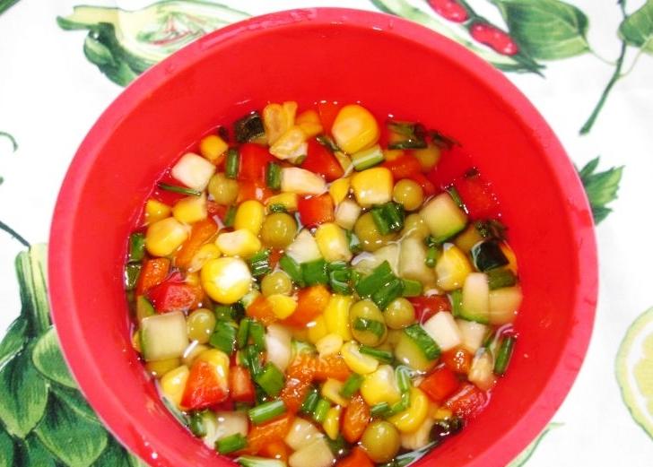 Вегетарианское заливное - фото шаг 5