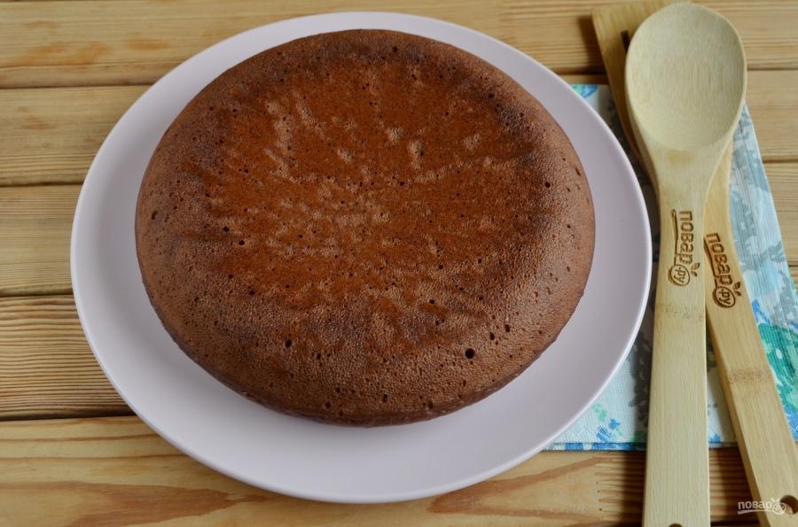 Быстрый шоколадный торт - фото шаг 9
