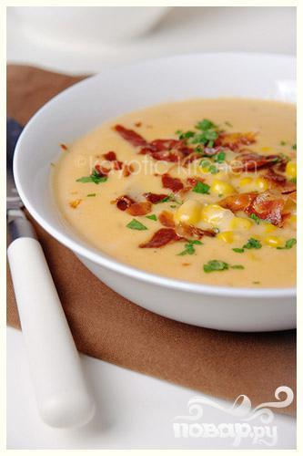 Суп с сыром Чеддер - фото шаг 13