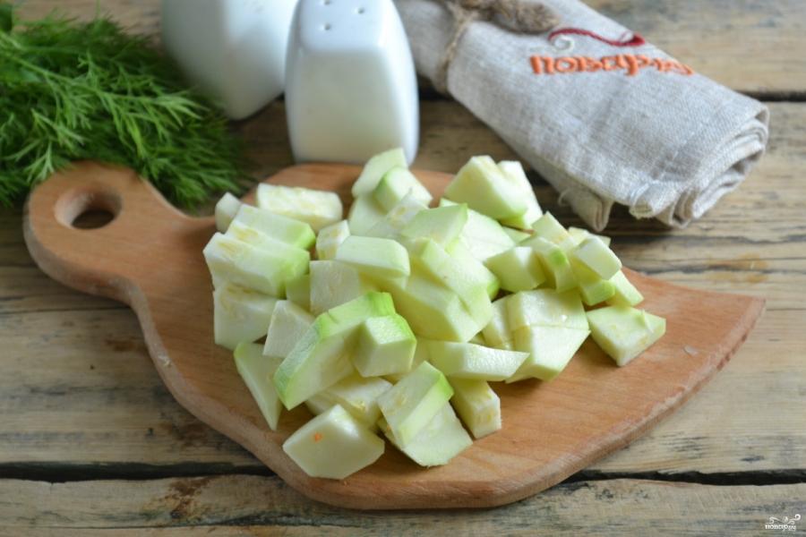 Овощное рагу с цветной капустой и кабачками - фото шаг 4