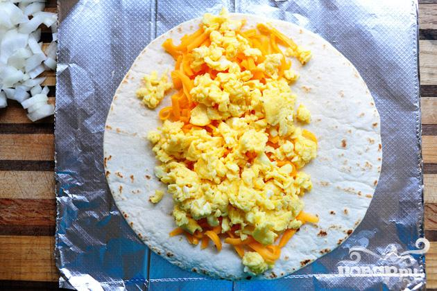 Бурито на завтрак - фото шаг 12