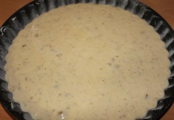 Пирог-минутка в духовке - фото шаг 5