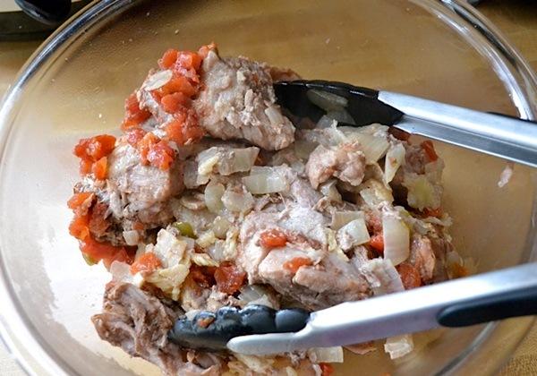 Тортилья со свининой - фото шаг 2