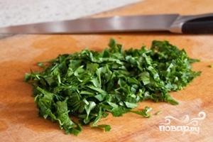 Салат с белой фасолью - фото шаг 4