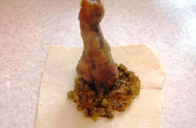 Ножка куриная в мешочке - фото шаг 5