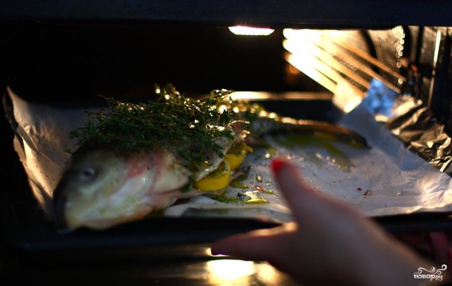 Рыба с тимьяном и луком - фото шаг 8