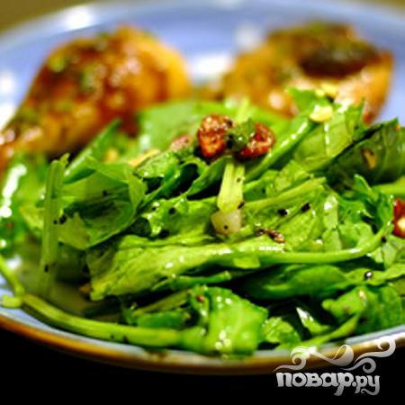 Салат Джемми из шпината и клюквы - фото шаг 3