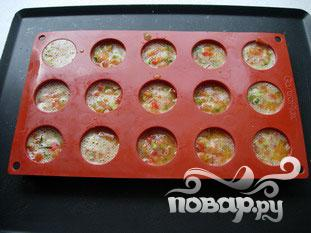 Маленький овощной омлет - фото шаг 8