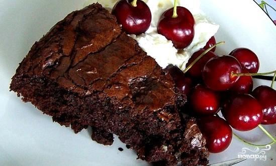 Пирог с вишней и шоколадом - фото шаг 4