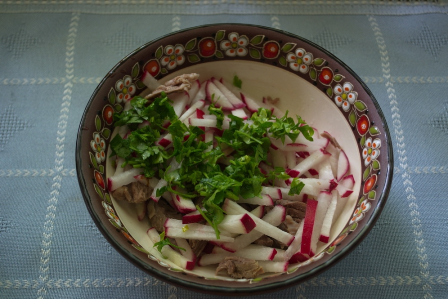 "Салат ""Узбекистан"" - фото шаг 4"