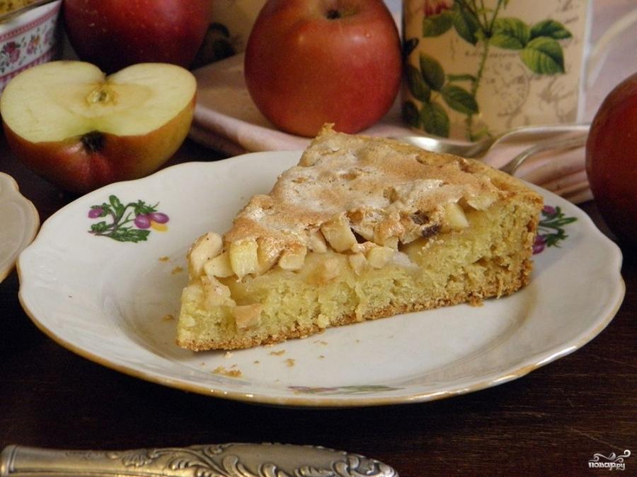 Яблочный пирог с корицей - фото шаг 9