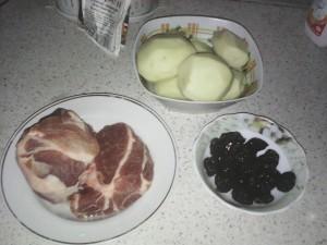 Рецепт Свинина с черносливом в мультиварке