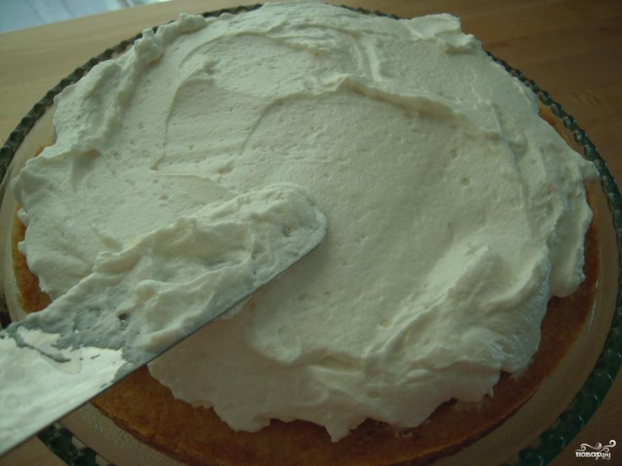 Бостонский торт с кремом - фото шаг 2