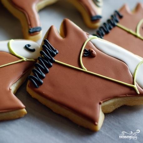"""Печенье """"Лошадь"""" - фото шаг 5"""