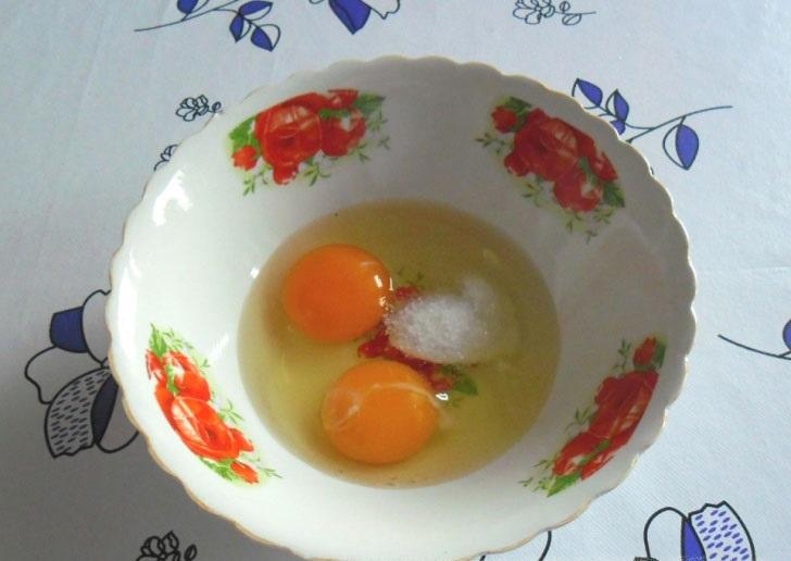 Тесто для самсы на кефире - фото шаг 1