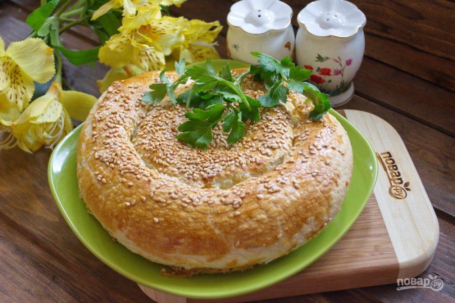 Пирог Зебра  пошаговый рецепт с фото на Готовим дома