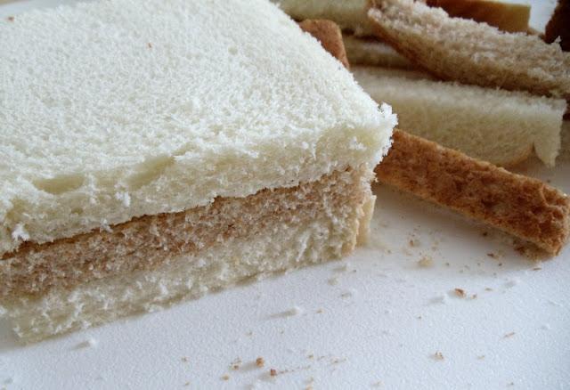 Бутерброды на свадебный стол - фото шаг 2