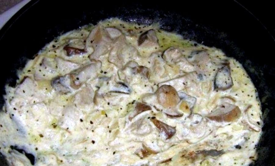 Волнушки, жареные в сметанном соусе - фото шаг 5
