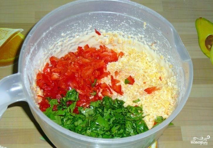 Сырные вафли - фото шаг 3