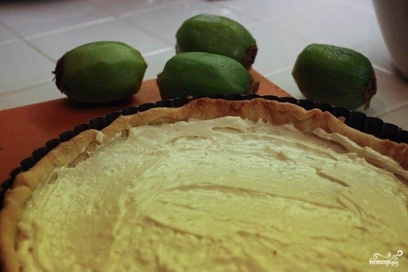 Миндальный пирог с киви - фото шаг 5
