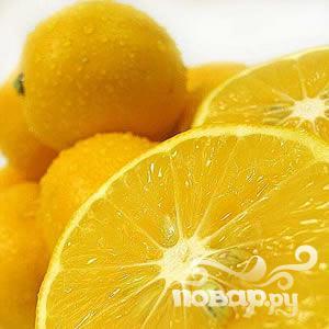 Лосось с лимоном и каперсами - фото шаг 2