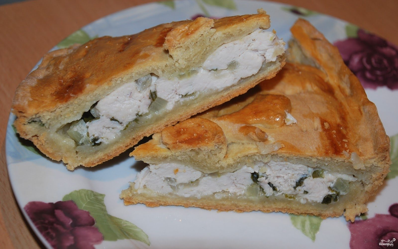 Начинка из курицы для пирога
