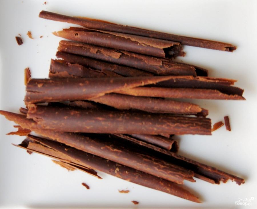 Шоколадный чизкейк с вишней - фото шаг 12