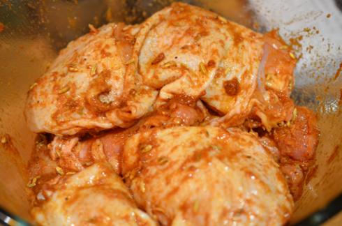 Запеченные куриные бедра - фото шаг 2