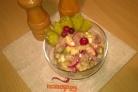 Салат из сельди и картофеля