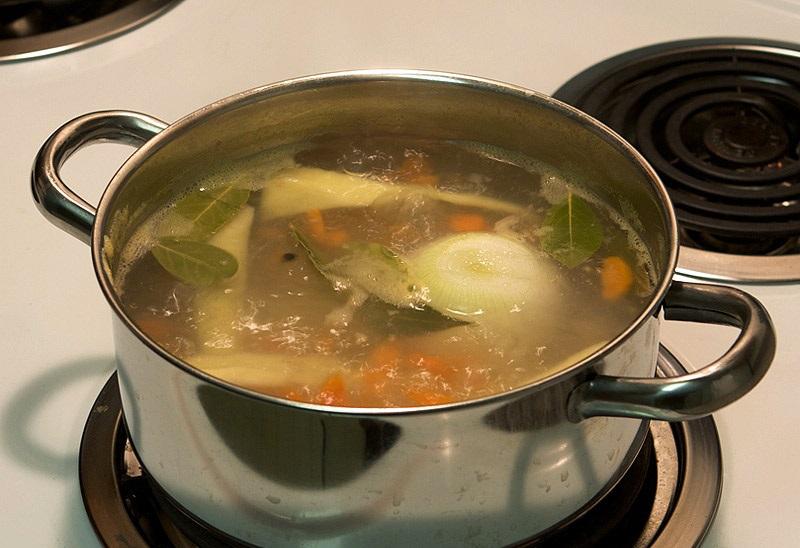 Суп с рыбным филе - фото шаг 4