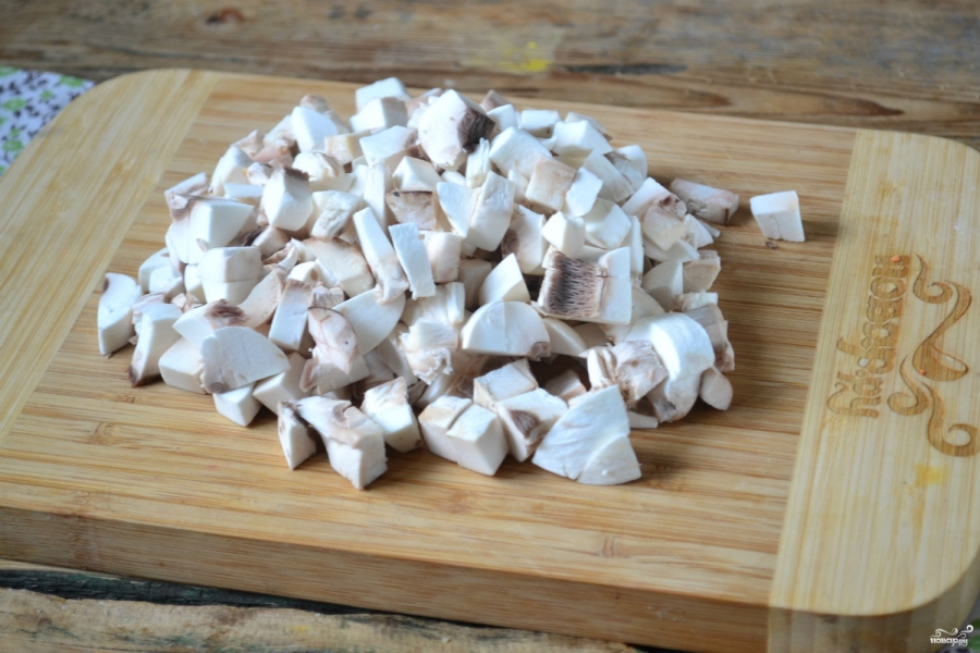 Овощная икра с грибами на зиму - фото шаг 3