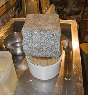 Голландский твердый сыр в домашних условиях - фото шаг 8