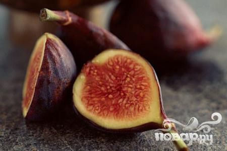 Рецепт Инжир с маскарпоне и медом