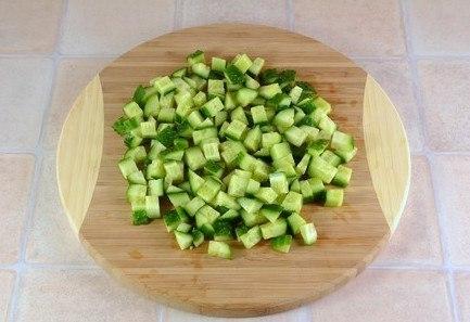 Салат из крабовых палочек - фото шаг 1