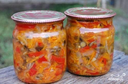 Рецепт Солянка на зиму без капусты