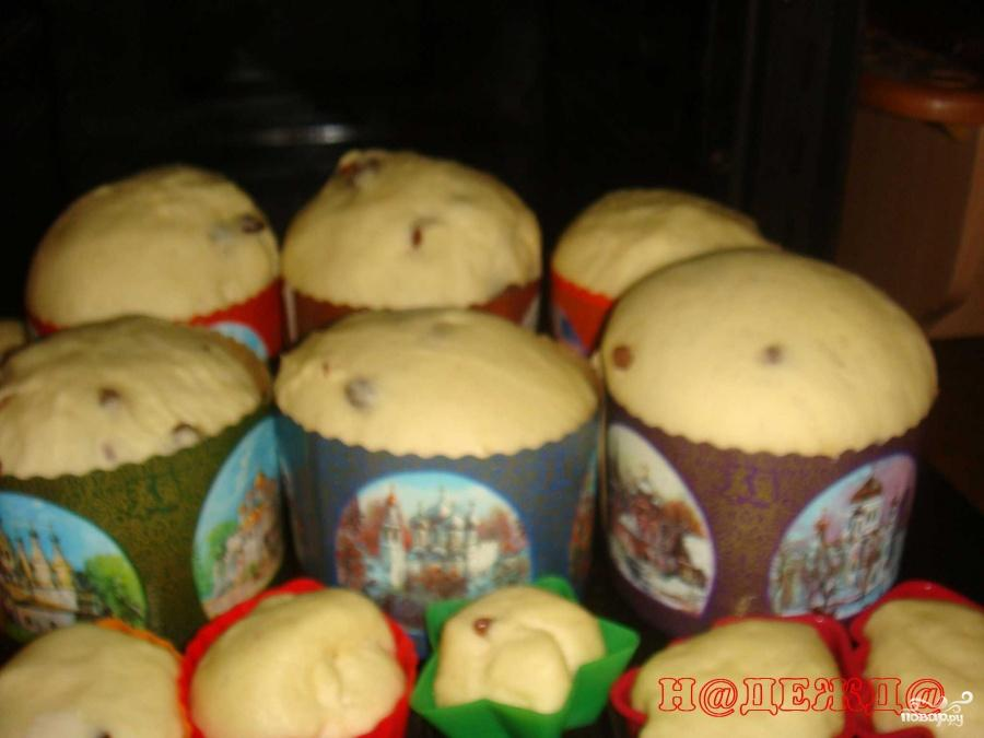 Пошаговый рецепт пасха кулич