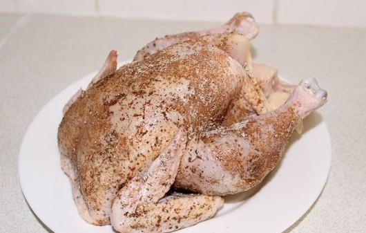 Курица в мультиварке в рукаве - фото шаг 1