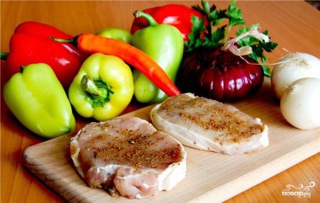 Рецепт Свинина по-венгерски